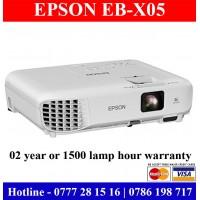 Epson EB-X05 Projectors suppliers Sri Lanka