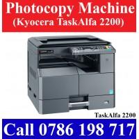 Kyocera TaskAlfa 2200 Photocopy Machine sale in Colombo