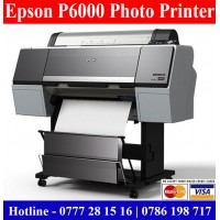 Epson P6000 Photo Enlargement Printers sale Colombo, Sri Lanka