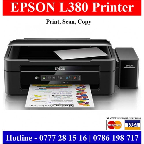 Epson L380 Printers In Colombo Gampaha For Sale
