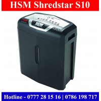 Paper Shredders sale Sri Lanka | HSM ShredStar S10 Sri Lanka