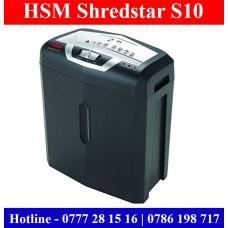 Paper Shredders sale Sri Lanka   HSM ShredStar S10 Sri Lanka
