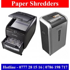 Paper Shredders suppliers Colombo, Sri Lanka