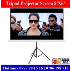 8X6 Tripod Projector Screens sale Price Colombo, Sri Lanka